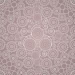 Бесшовные декоративный орнамент — Cтоковый вектор