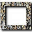 Stock Photo: Frame Stones