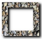 Frame Stones — Stock Photo