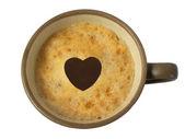 любитель кофе — Стоковое фото