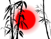 Bamboo branches — Stock Photo