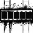 Grunge Filmstrip - Stock Photo