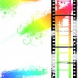 Royalty-Free Stock Photo: Grunge Filmstrip
