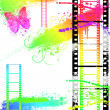 Grunge Filmstrip — Stock Photo #3399149