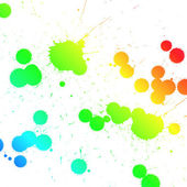 Paint splats — Stock Photo