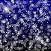 Flocos de neve — Fotografia Stock