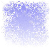 Window frosted — Stock Photo