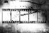 Grunge filmstrip — Stock Photo