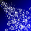 Stock Photo: Abstract background with Snowflakes