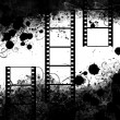 Stock Photo: Grunge filmstrip