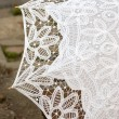Lacy umbrella — Stock Photo