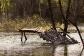 Broken bridge — Stock Photo