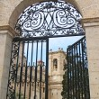 Stock Photo: The gate to Maltese Church