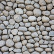 Stone wall texture from river — Stock Photo
