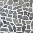 Stone mosaic wall texture background — Stock Photo