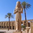 Stock Photo: Luxoe, Egypt, Rameses II Statue