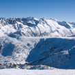 Winter mountains landscape. Bulgaria, Bansko — Stock Photo