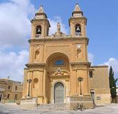 Maltese Church — Stock Photo