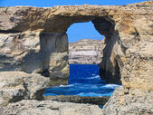 Azure Window, Gozo, Malta — Stockfoto
