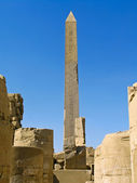 Ancient Obelisk at Karnak Temple, Luxor — Stock Photo