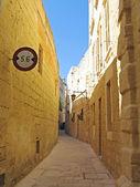 Silent City Mdina on Malta island — Stock Photo