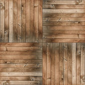 Seamless wooden plank background — Stock Photo