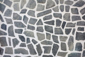 Stone mosaic wall texture background — Stockfoto