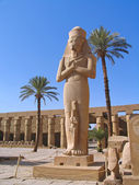 Luxoe, Egypt, Rameses II Statue — Stock Photo