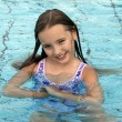 Stock Photo: Princess Elenin swimming pool