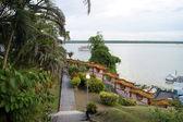 City landscapes. Kuching. Borneo. — Stock Photo