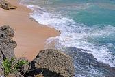 海岸のバリ ウルワツ寺院について. — ストック写真