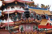 Temple de bouddhisme à Bornéo — Photo