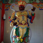 Buddhism temple to Borneo — Stock Photo #5152291