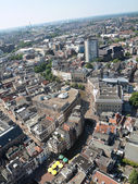 Areal of the city of Utrecht — Stock Photo