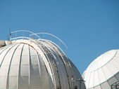 Telescope dome observatory — Stock Photo