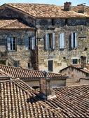 Village rooftops — Stock Photo