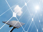 Solar energy concept — Stock Photo