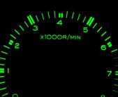 Car tachometer — Stockfoto