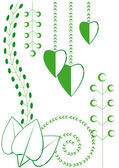 Spring floral motifs — Stock Vector