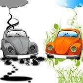 Ecological car.jpg — Stock Vector