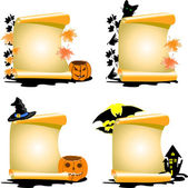 Halloween 4 — Stock Vector