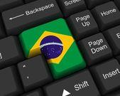 Brazílie klíč — Stock fotografie