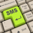 Stock Photo: Sms key