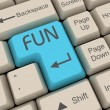 Fun key — Stock Photo