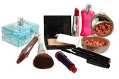 Cosmetics and perfumery — Stock Photo