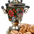 Foto Stock: Samovar