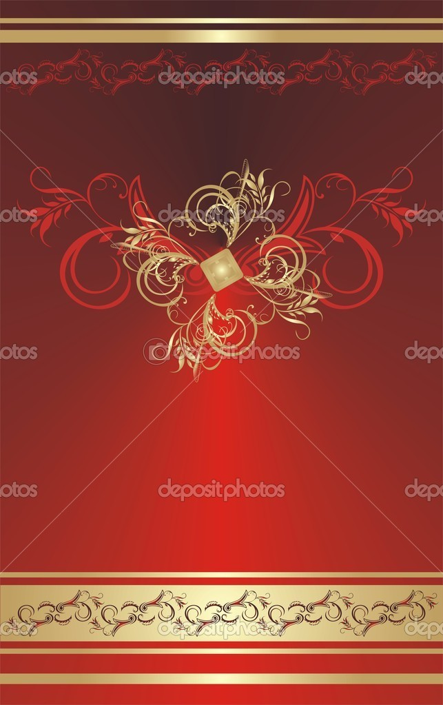 Ornament for card. Vector illustration — Stock Vector #2768874