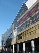 Modern building shopping center. — Stock Photo