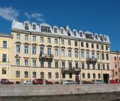 St. Petersburg, Finance house Orzhevskogo — Stock Photo