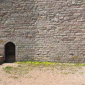 Fortress Oreshek. A fragment of the fortress wall, doorway — Stock Photo